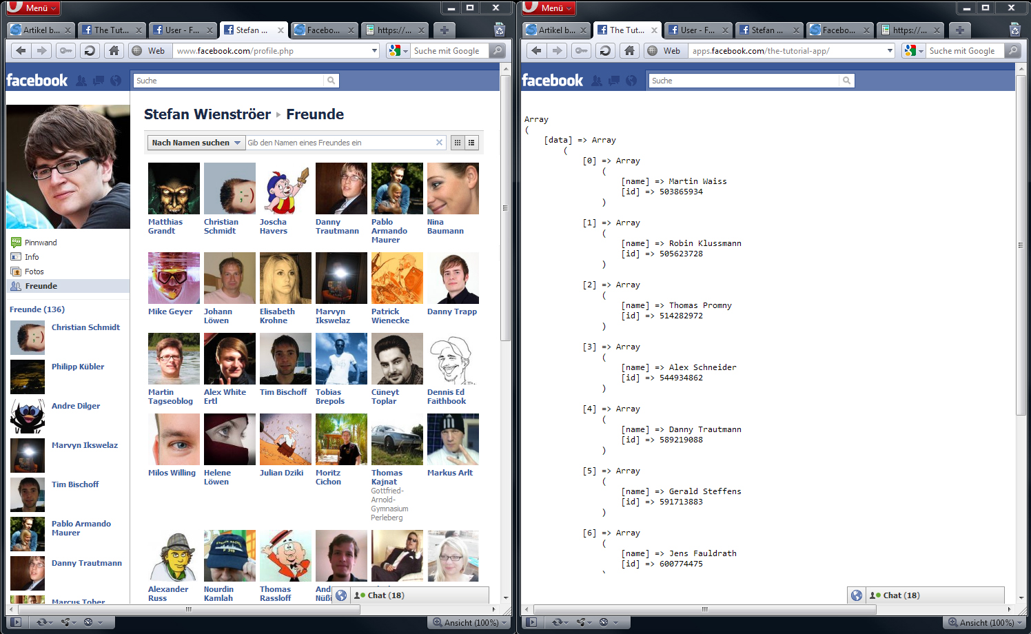 Facebook Graph – So komme ich an Informationen | a coding project