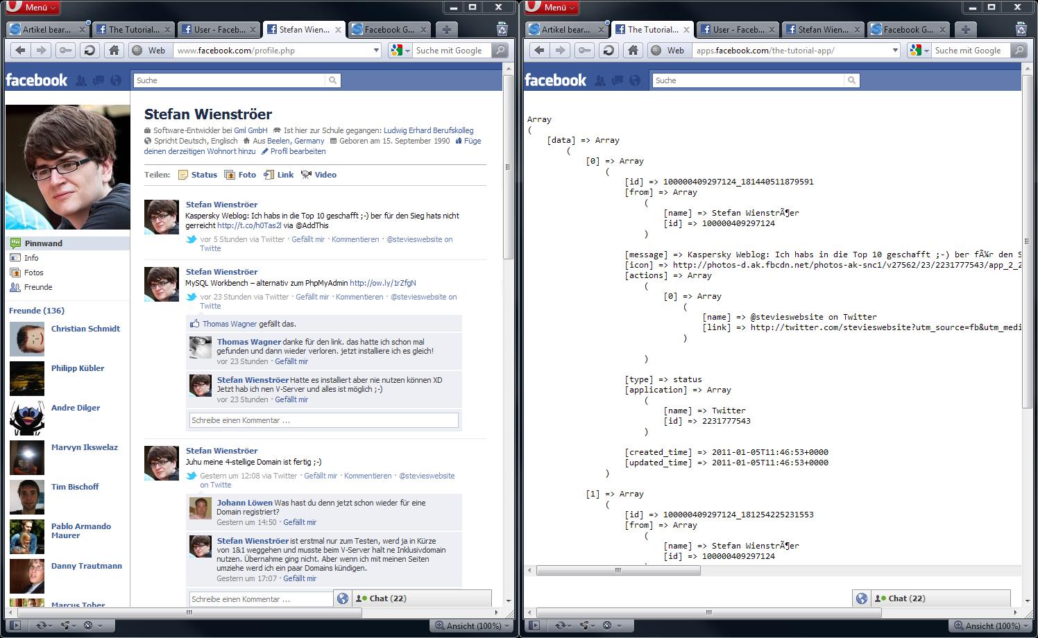 facebook graph so komme ich an informationen a coding. Black Bedroom Furniture Sets. Home Design Ideas